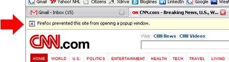 CNN Popup blocked
